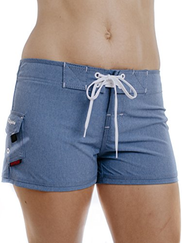 Stretch Embroidered Boardshorts - Maui Rippers Women's 2.5