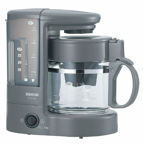 ZOJIRUSHI coffee maker coffee experts [Cup approximately 1 ~ 4 tablespoons] Brown EC-GA40-TA