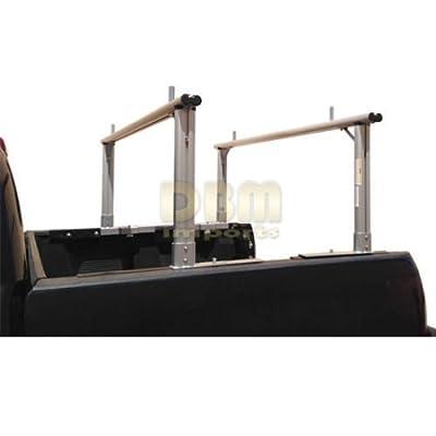 Aluminum Truck Rack Adjustable Universal Pick up Truck Ladder Lumber Contractor