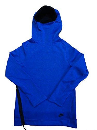 97b32ab341fd Nike Sportswear Mens Tech Fleece Funnel Neck Pull Over Hoodie 805214 Jacket  (Large