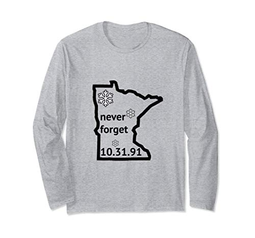 Halloween Blizzard of 91 Shirt | Minnesota Will Never Forget ()