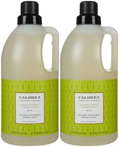 Caldrea Liquid Laundry Detergent - Caldrea Laundry Detergent - 64 oz - Ginger Pomelo - 2 pk