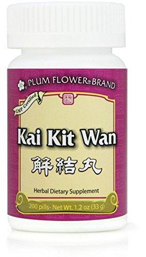 Qi Dye Kit - Kai Kit Wan, or Jie Jie Wan, 200ct Teapills