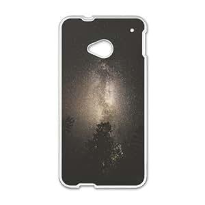 HTC One M7 Cell Phone Case White Milky Way XX K1C7ND