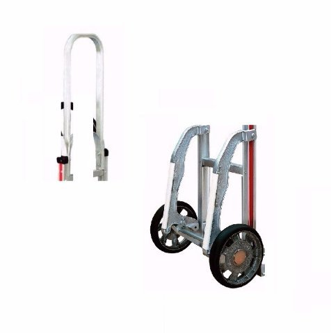 Set of Stair Glides and 68'' Extension For Magliner Aluminum Hand Trucks