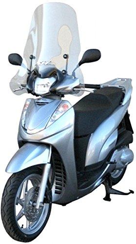 Fabbri Parabrezza Exclusive completo di attacchi Trasparente per Honda-SH 300 dal 2006 fino al 2010