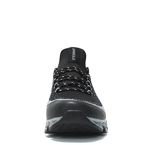 Trainer Men's Mesh Fashion Air Sneakers Breathable Sport Black Cushion Shoes Runners Outdoor vXfwrvq