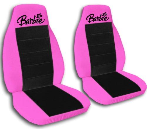 2Hot Rosa y Negro Barbie fundas para asientos para un 2003a 2005Honda Civic DX, EX, LX. Please Do notifíquenos Si...