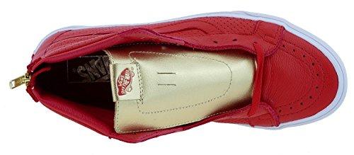 Vans Sk8-hi Reissue Zip Unisex-Erwachsene Sneaker V4KYJKA gold pack red gold