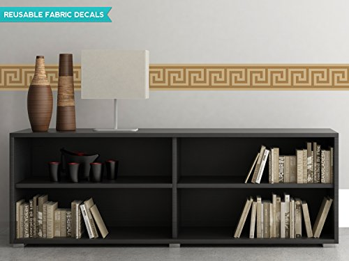 sunny-decals-greek-key-wall-border-fabric-wall-decal-set-of-2-25-x-66-brown
