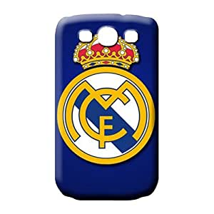 samsung galaxy s3 cell phone carrying skins Covers Excellent Fitted colorful real madrid cf