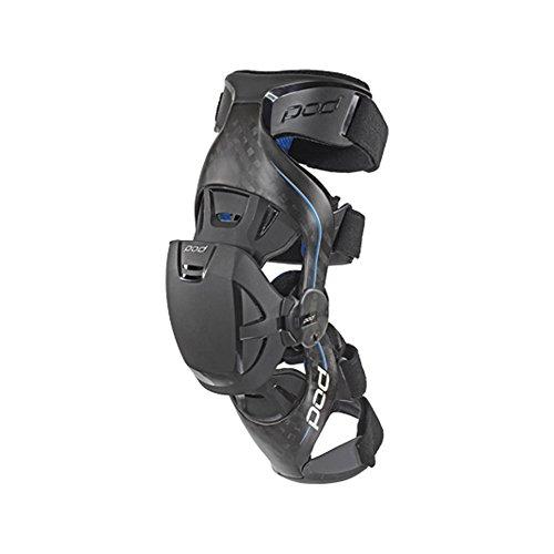POD Unisex-Adult K8 Knee Brace (Carbon/Blue, Small) (Racing Knee Brace)