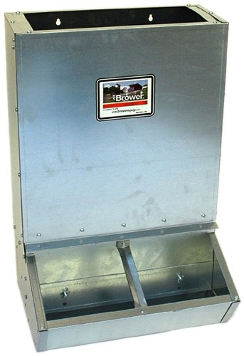 Brower 2HF Dry Lot Supplement Hog Feeder by Brower