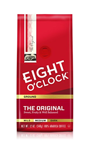 - Eight O'Clock Ground Coffee, The Original, 12 Ounce (Pack of 6)
