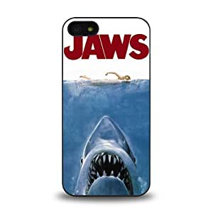 iPhone 5 5S case protective skin cover with Jaws movie poster design