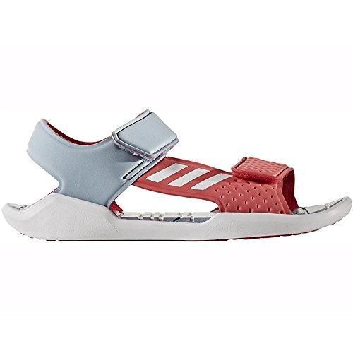 Adidas Rapidaswim J - BA9383 - Color Grey-Pink - Size: 3.0 by adidas