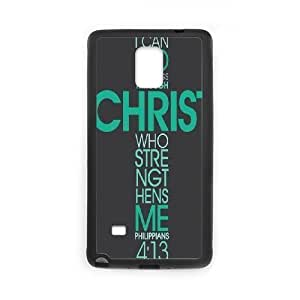 Christian bible verses quotes Design Unique Customized Hard Case Cover for Samsung Galaxy Note 4, Christian bible verses quotes Galaxy Note 4 Cover Case