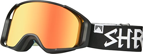 Shred Uni Masque Simplify Blackout Bonus neige Lunettes de ski, snowboard, Black, One Size