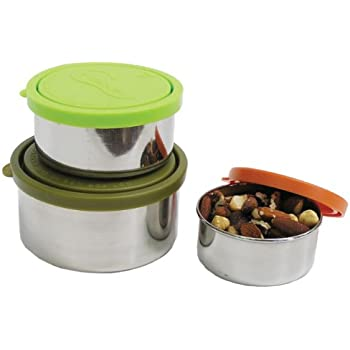 U Konserve Nesting Trio Stainless-Steel Containers with Leak-Resistant Lids