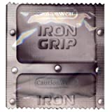 Caution Wear Iron Grip Condoms + FREE Lubricant - 100 Pack