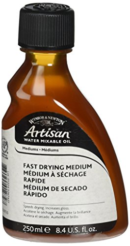 Winsor & Newton Artisan Water Mixable Fast Drying Medium - 250ml - Paint Drying Fast