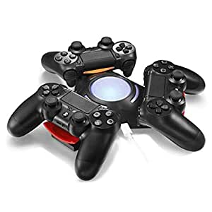 Navigatee Cargador con Controlador PS4, estación de Carga ...