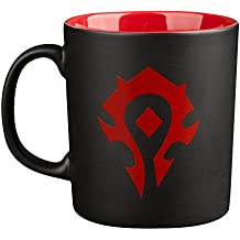 JINX World of Warcraft Horde Ceramic Coffee Mug (11 ounces) for Video Game Fans