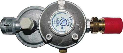 Cavagna Group 52-A-490-0013 Dual Stage Regulator Type 524AS, Horizontal Vent, Overpressure Protection Device, Zamak