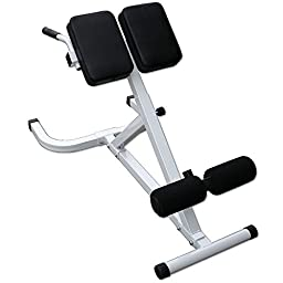 45 Degree Hyperextension Bench by Deltech Fitness