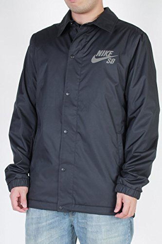 NIKE SB Mens Assistant Coaches Jacket (Small, Black) by NIKE