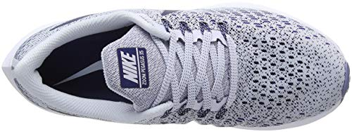 Football Grey White Air Aluminum NIKE Donna Pegasus Blue 005 Zoom Multicolore Running 35 Scarpe Void 7dwq8w1z