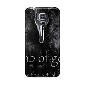 JasonPelletier Samsung Galaxy S5 Anti-Scratch Hard Cell-phone Cases Provide Private Custom Colorful Lamb Of God Skin [zRx14114rwtt]