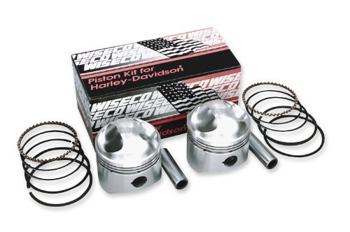 Wiseco High-Performance Forged Pro Lite Piston Kit 883-1200 Reverse Dome for Ha (Piston High Wiseco Performance)