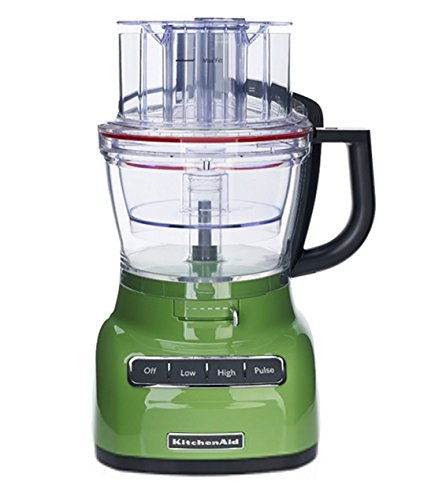 KitchenAid RKFP0930GA 9-Cup Food Processor with Exact Slice System (CERTIFIED REFURBISHED) Green Apple