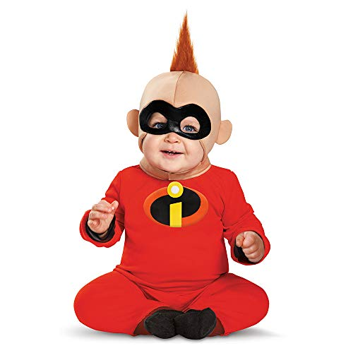 Family Guy Costumes For Kids (Disguise Baby Boys' Baby Jack Deluxe Infant Costume, Red/Black, 6-12)