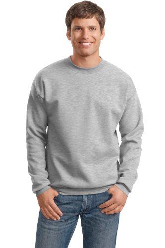 Garment Cotton Ultimate (Hanes Adult Ultimate Cotton® Crew Neck - Ash (90/10) - L)