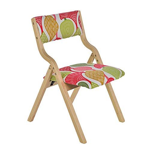 1540cd593be3c3 Barstools ZHIRONG Chaise Pliante Chaise En Bois Massif Chaise De Bureau  Tissu Chaise D ordinateur