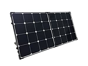 Renogy 100 Watt Eclipse Monocrystalline Solar Suitcase with Charge Controller