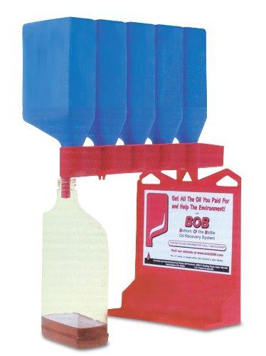 (WirthCo 32947 Funnel King B.O.B. Bottom of The Bottle Oil Bottle Draining System)