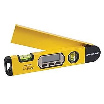 Silverline 427637 - Nivel digital y medidor de ángulos 320 mm: Amazon.es: Amazon.es