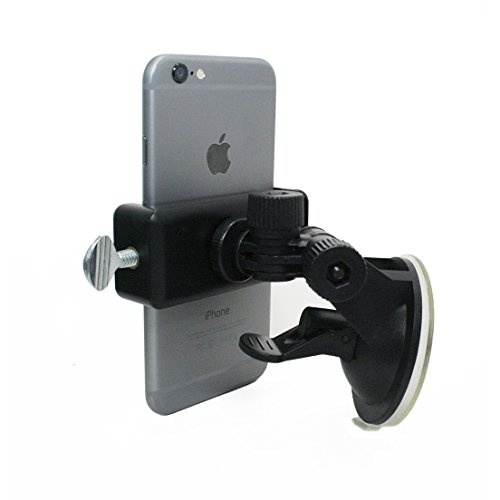 Livestream Gear - Suction Cup Phone Mount for Streaming, Video, or Photos. -