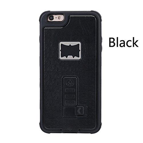 Sloskei iPhone 6/6s case,Outdoor multifunctional lighter cover built-in cigarette lighter / bottle opener for iPhone 6/6s Case (Lighter Phone Cases)