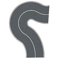 60710 Univ Curved Road Grey w /Adhesive Back HO (2)