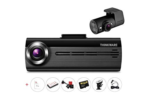 Thinkware FA200 2-Channel IR Infrared 2CH Dash Cam Bundle (for UBER & LYFT Ridesharers) | Cigarette Power Cable & 16GB Micro SD Card Included ()