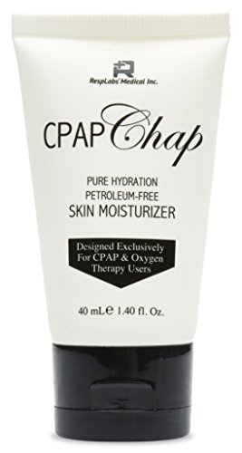 CPAP Face Cream, CPAP Chap by RespLabs | 1.4oz Petroleum Free Skin Moisturizer Designed for CPAP & Oxygen Therapy Users | Prevent Skin Breakdown & Lock In Moisture