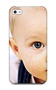 gloria crystal's Shop Hot Slim Fit Tpu Protector Shock Absorbent Bumper Big Eyes Cute Baby Case For Iphone 5c 2500382K40299966