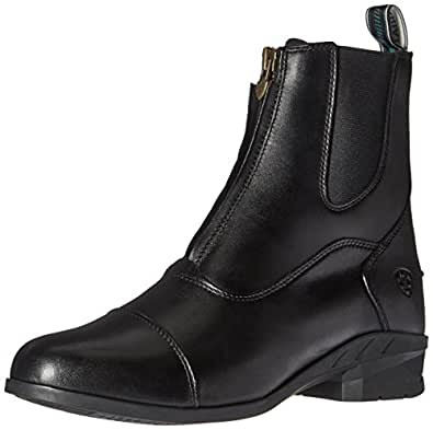ARIAT Womens Heritage IV Zip-W English Paddock Boot Black Size: 5.5 US / 5.5 AU
