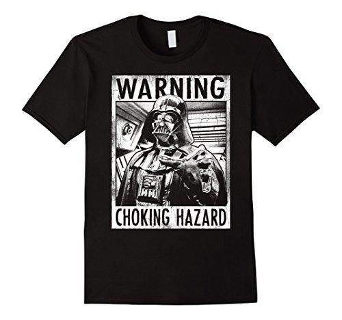 Mens Star Wars Darth Vader Choking Hazard Vintage Graphic T-Shirt Medium (Choking Hazard T-shirt)