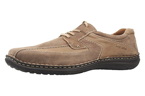 Josef Seibel - Zapatos de cordones para hombre marrón marrón