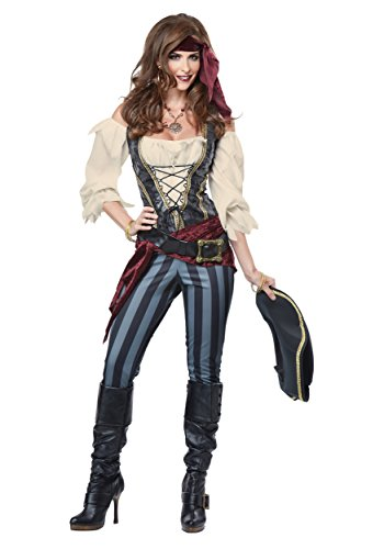 Brazen Buccaneer Pirate Adult Costume